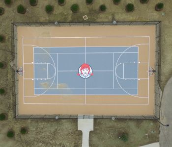 Wendy's Company Basketball Court, Dublin Ohio
