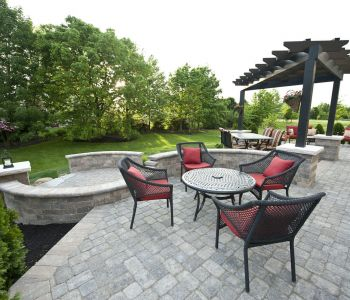 Custom Patio - Dublin Ohio